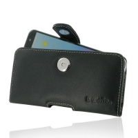 Leather Horizontal Pouch Case with Belt Clip for ZTE Blade V7 / Small Fresh 4