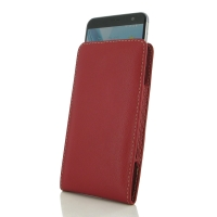 Leather Vertical Pouch Case for ZTE Blade V7 / Small Fresh 4 (Red)