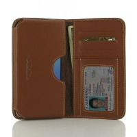 Leather Card Wallet for ZTE Blade V7 / Small Fresh 4 (Brown)