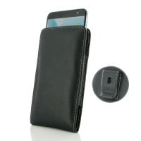 Leather Vertical Pouch Belt Clip Case for ZTE Blade V7 / Small Fresh 4