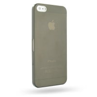 0.6mm Ultra thin Plastic Back Case Cover for Apple iPhone 5 | iPhone 5s (Grey)