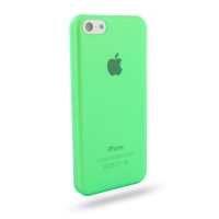 0.6mm Ultra thin Plastic Back Case Cover for Apple iPhone 5c (Green)