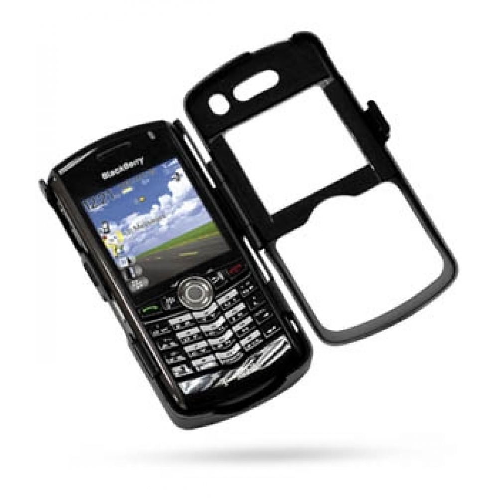 Blackberry pearl 8100 mobile phones images blackberry pearl 8100 -  Blackberry Pearl 8100 Aluminum Metal Case Black Top Quality Leather Case By Pdair