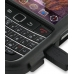 BlackBerry Bold 9650 Aluminum Metal Case (Black) handmade leather case by PDair