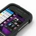 BlackBerry Q10 Aluminum Metal Case (Black) genuine leather case by PDair