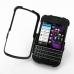 BlackBerry Q10 Aluminum Metal Case (Black) top quality leather case by PDair