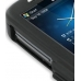 HTC Touch 3G Aluminum Metal Case (Black) handmade leather case by PDair