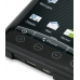 HTC Evo 4G Aluminum Metal Case (Black) top quality leather case by PDair