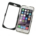 iPhone 6 6s Plus Aluminum Metal Case (Black) handmade leather case by PDair