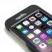 iPhone 6 6s Plus Aluminum Metal Case (Black) genuine leather case by PDair