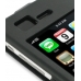 iPhone 3G 3Gs Aluminum Metal Case (Black) top quality leather case by PDair