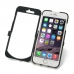 iPhone 6 6s Aluminum Metal Case (Black) handmade leather case by PDair