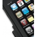 iPod Touch 3rd 2009 Aluminum Metal Case (Black) handmade leather case by PDair