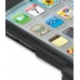 iPod Touch 4th Aluminum Metal Case (Black) handmade leather case by PDair
