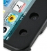 iPod Touch 4th Aluminum Metal Case (Black) genuine leather case by PDair