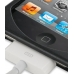 iPod Touch 4th Aluminum Metal Case (Black) top quality leather case by PDair