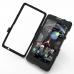 Motorola Droid Razr Maxx HD Aluminum Metal Case (Black) custom degsined carrying case by PDair