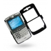 Motorola Q / Q Pro with Extended Battery Aluminum Metal Case (Black) genuine leather case by PDair