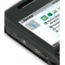 Nokia E71 Aluminum Metal Case (Black) top quality leather case by PDair