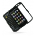 Samsung Epic 4G Galaxy S Aluminum Metal Case (Black) custom degsined carrying case by PDair