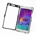 Samsung Galaxy Note 4 Aluminum Metal Case (Black) custom degsined carrying case by PDair