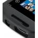 Samsung Focus Aluminum Metal Case (Black) handmade leather case by PDair