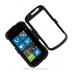 Samsung Focus Aluminum Metal Case (Black) custom degsined carrying case by PDair