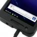 Samsung Galaxy S2 Skyrocket Aluminum Metal Case (Black) handmade leather case by PDair
