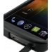 Samsung Galaxy Nexus Aluminum Metal Case (Black) handmade leather case by PDair