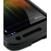 Samsung Galaxy Nexus Aluminum Metal Case (Black) genuine leather case by PDair