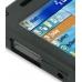 Samsung SGH-i780 Aluminum Metal Case (Black) genuine leather case by PDair
