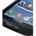 Samsung Galaxy S2 T989 Aluminum Metal Case (Black) genuine leather case by PDair