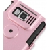Samsung SGH-i600 / SGH-i608 Aluminum Metal Case (Pink) protective carrying case by PDair