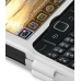 BlackBerry Curve 8520 Aluminum Metal Case (Silver) handmade leather case by PDair