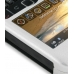 BlackBerry Curve 8520 Aluminum Metal Case (Silver) top quality leather case by PDair