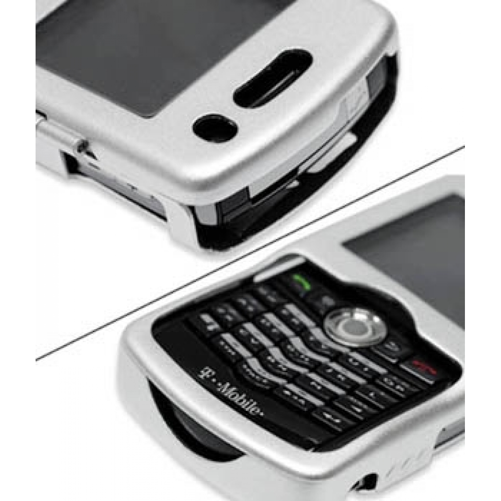 Blackberry pearl 8100 mobile phones images blackberry pearl 8100 -  Blackberry Pearl 8100 Aluminum Metal Case Silver Genuine Leather Case By Pdair