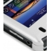 BlackBerry Tour 9630 Aluminum Metal Case (Silver) genuine leather case by PDair
