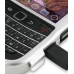 BlackBerry Bold 9650 Aluminum Metal Case (Silver) handmade leather case by PDair