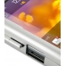 BlackBerry Torch 9810 Aluminum Metal Case (Silver) genuine leather case by PDair
