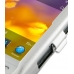 BlackBerry Torch 9810 Aluminum Metal Case (Silver) top quality leather case by PDair