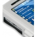 HP iPAQ 610 Series Aluminum Metal Case (Silver) custom degsined carrying case by PDair