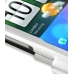 HTC Inspire 4G Aluminum Metal Case (Silver) handmade leather case by PDair