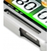 HTC Inspire 4G Aluminum Metal Case (Silver) genuine leather case by PDair