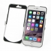 iPhone 6 6s Plus Aluminum Metal Case (Silver) custom degsined carrying case by PDair