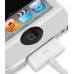 iPod Touch 3rd 2009 Aluminum Metal Case (Silver) genuine leather case by PDair