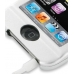 iPod Touch 3rd 2009 Aluminum Metal Case (Silver) top quality leather case by PDair