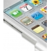 iPod Touch 4th Aluminum Metal Case (Silver) genuine leather case by PDair