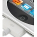 iPod Touch 4th Aluminum Metal Case (Silver) top quality leather case by PDair