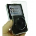 iPod 5G with Video 30GB Crystal Aluminum Metal Case + Neck Strap (Silver) offers worldwide free shipping by PDair