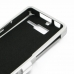Motorola Razr i Aluminum Metal Case (Silver) top quality leather case by PDair
